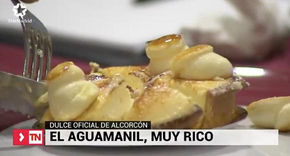 Aguamaniles, el dulce propio de Alcorcón